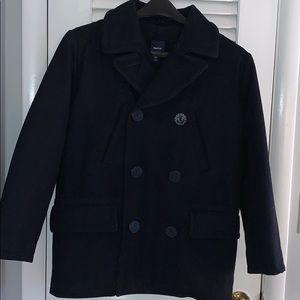 Gap Kids Navy Pea Coat